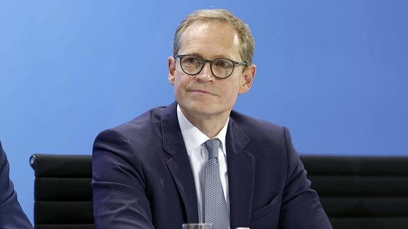 Michael Müller (SPD), Regierender Bürgermeister von Berlin und Chef der Berliner SPD.
