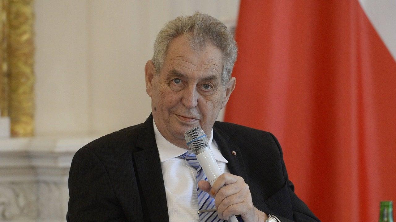 Tschechiens Präsident Zeman auf Intensivstation