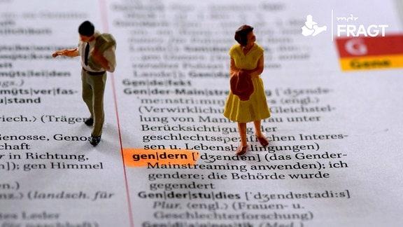 Eintrag des Begriffs gendern im deutschen Duden