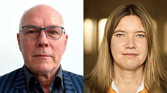 Prof. Dr. Hans-Jörg Stiehler und Prof. Dr. Heike Grimm