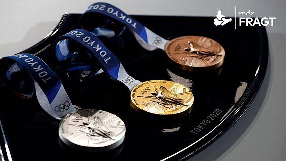 Olympische Medaillen