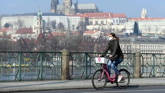 Mundschutzpflicht in Tschechien
