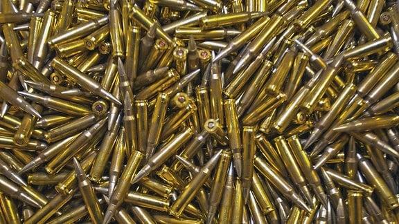 Scharfe Munition für das Kaliber 5,56 des Sturmgewehrs G-36