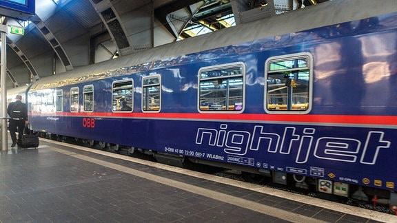 Nachtreisezug Nightjet der Österreichischen Bundesbahn (ÖBB)