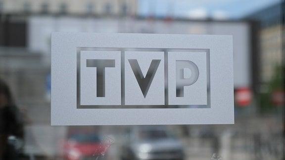 Öffentlich-Rechtlicher Rundfunk TVP in Polen - Logo