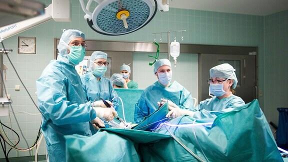 Minimalinvasive Operation im Diakonissenkrankenhaus