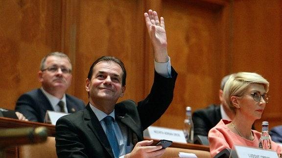Neuer rumänischer Regierungschef Ludovic Orban