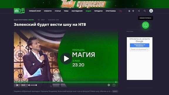 Selenskij TV-Show