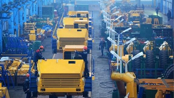 BelAZ-Fabrik in Minsk