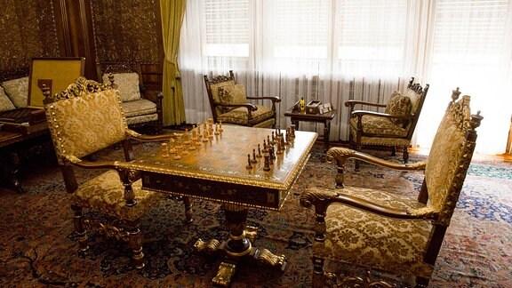 Schachbrett aus Ceausescu-Villa, Bukarest