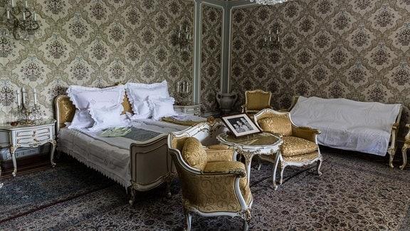 Schlafzimmer in Ceausescu-Villa, Bukarest