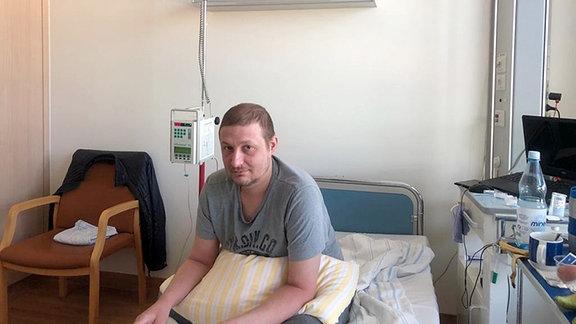 Eugen im Krankenhaus in Borstel