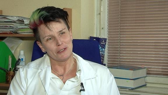 Die tschechische Ärztin Vaclava Adamkova
