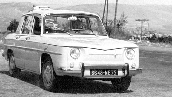 Renault 8 in den 60er Jahren