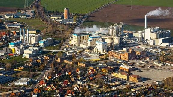 Chemiefarbik Soda Staßfurt