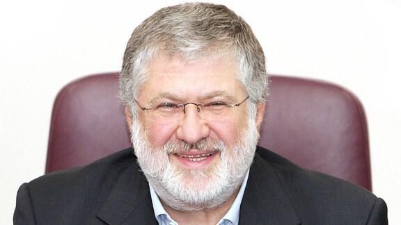 Igor Kolomoisky, Gouverneur der Oblast Dnipropetrowsk.