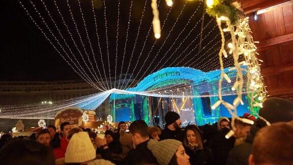 Der Weihnachtsmarkt in Bukarest