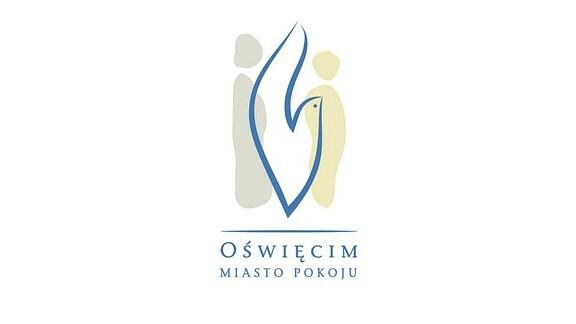 Logo der Stadt Oświęcim 'Stadt des Friedens'