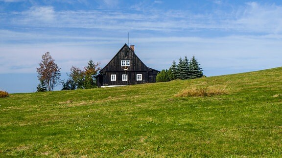 Berghütte im Isergebirge