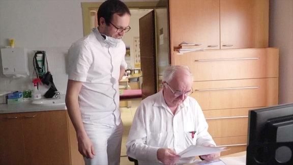 Paul Martinek und Gottfried Hanzl