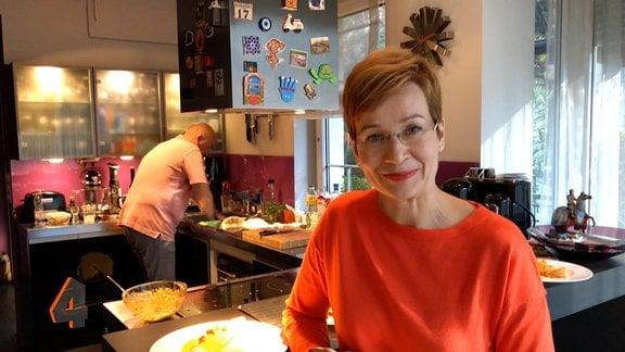 Ostbloggerin Piroska Bakos in der Küche