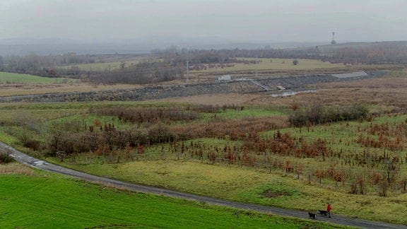 Nordböhmische Tagebaulandschaft
