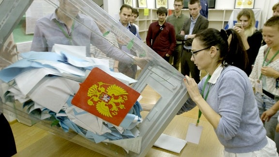 Tschuprunow bei Wahlen in St. Petersburg