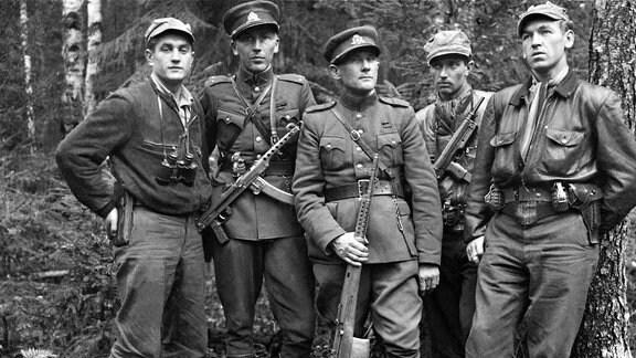 Litauen Partisanen im Widerstand gegen Sowjetunion