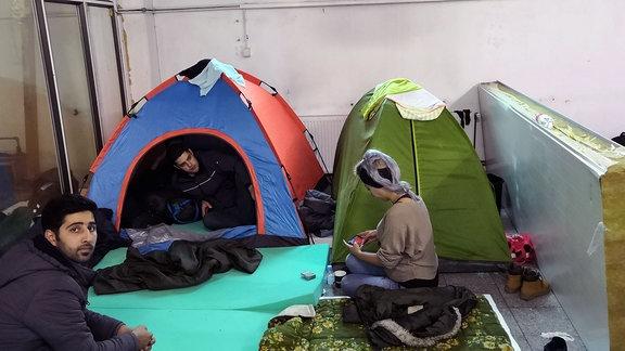 Flüchtlingscamp Bosnien-Herzegowina