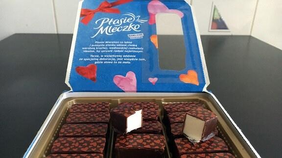 Polnische Schokoladenspezialität