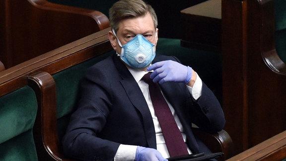 Parlamentsabgeordneter im polnischen Parlament