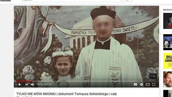 """Filmausschnitt aus der Doku """"Tylko nie mów nikomu"""" von Tomasz Sekielski"""