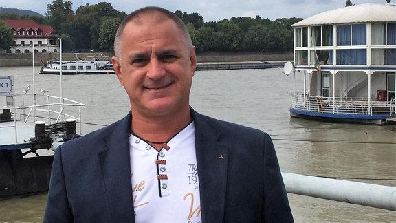 Atilla Bencsik, Präsident Binnenschiffahrtsverband Ungarn