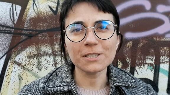 Lavinia Braniște im Gespräch mit unserer Reporterin