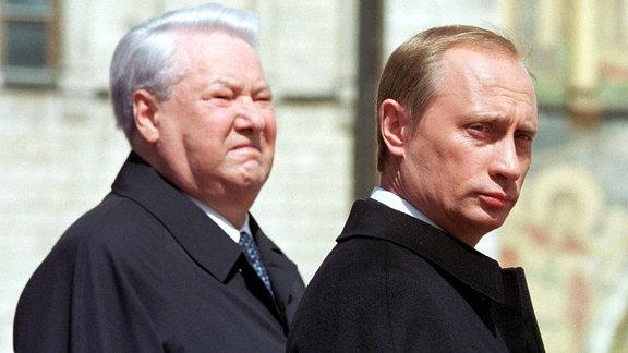 Jelzin und Putin
