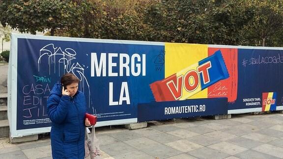 Ein Schokoladenanbieter ruft die Rumänen zur Präsidentschaftswahl am Sonntag auf