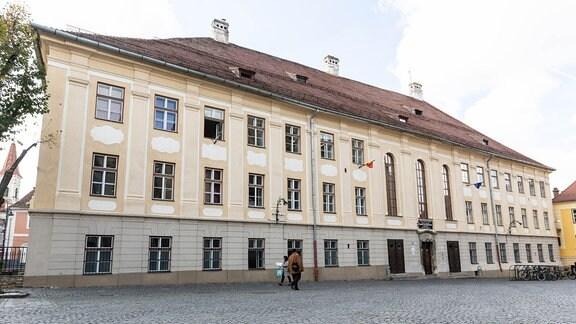 Schule des Samuel-von-Brukenthal-Gymnasium in Sibiu, Rumänien