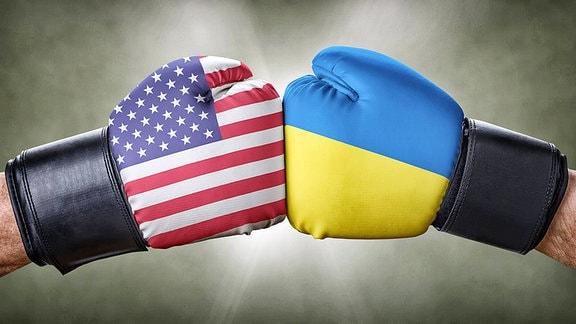 Boxkampf - USA vs. Ukraine