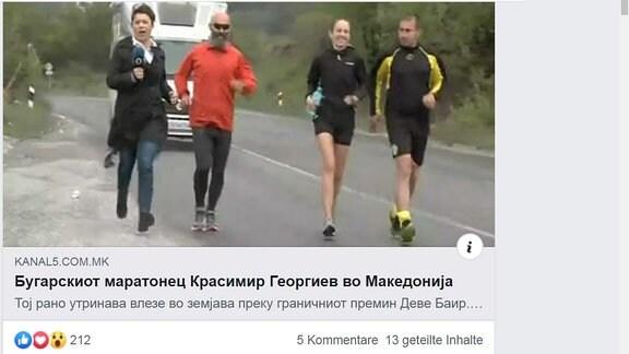 Ultramarathon Bulgarien