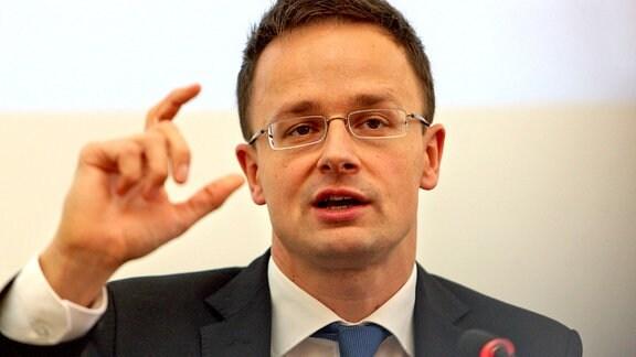 Peter Szijjarto (Auߟenminister Ungarn)