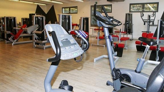 leeres Fitnessstudio