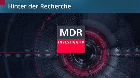 """Das Logo von """"MDR INVESTIGATIV""""."""