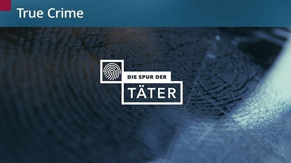 """Das Logo von """"Die Spur der Täter""""."""