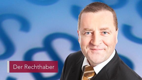 """Anwalt Thomas Kinschewski ist """"Der Rechthaber"""""""