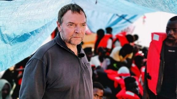 Lifeline Kapitän Claus-Peter Reisch
