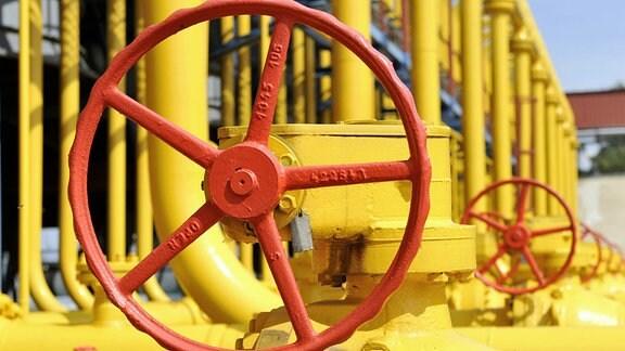 Modernisierte Gaspipeline Ukraine
