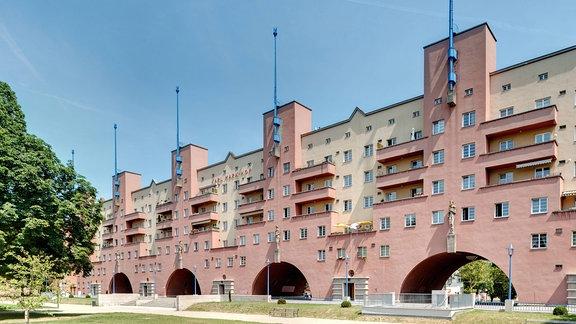Gemeindebau Marx-Hof