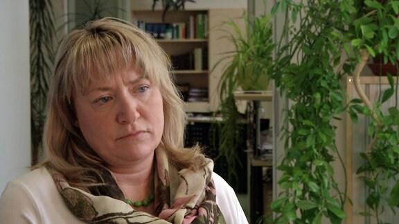 Die Frau ist Dresdens CDU-Stadträtin Daniela Walter