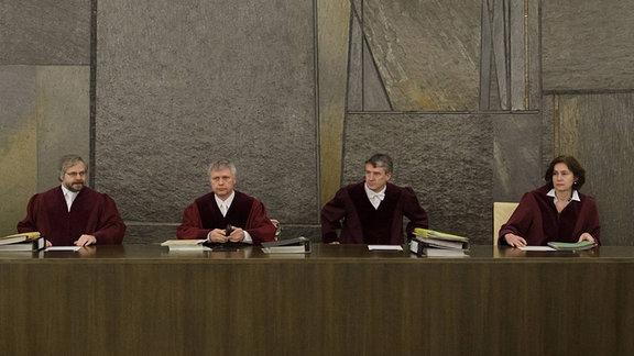 Die Richter am BGH Dr. Ralf Eschelbach, Prof. Dr. Christoph Krehl, Vorsitzender Dr. Ekkehard Appl, Dr. Nikolaus Berger und Dr. Yvonne Ott, 2012