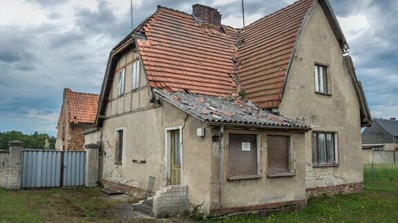 Baufälliges Haus im Kreis Oder-Spree